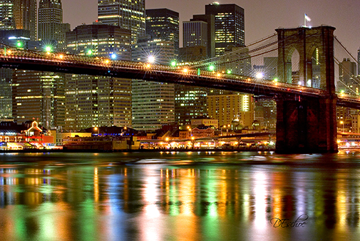 Capturing the Brooklyn Bridge in Night Photography