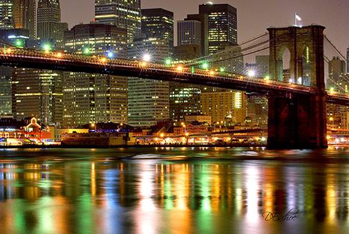 Capturing the Brooklyn Bridge in Night Photography