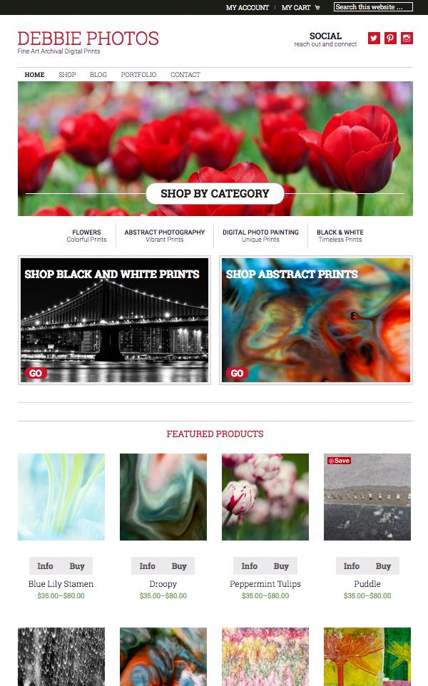 Debbie Photos Website
